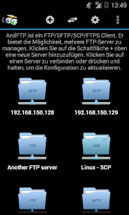 AndFTP (FTP Client) Screenshot